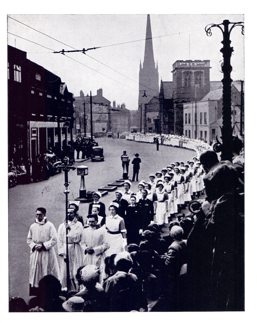 Nightingale Parade 1954
