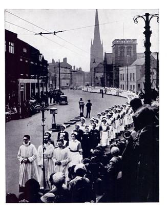 Nightingale Parade 1954