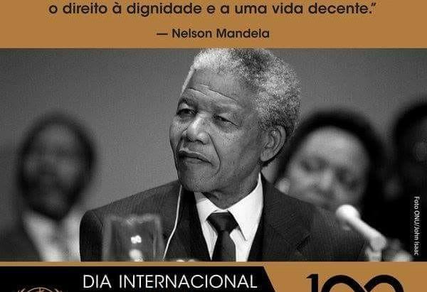 Cultura na praça em homenagem aos 100 anos de Nelson Mandela