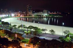 Praia de Botafogo à noite