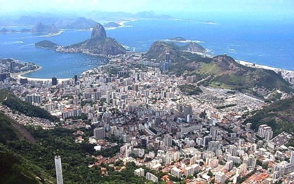 Vista aérea de Botafogo