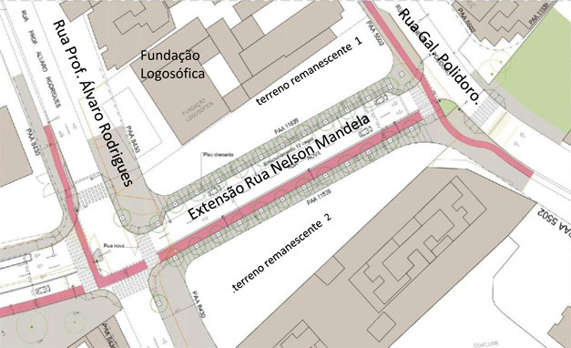 Revitalização da rua Nelson Mandela