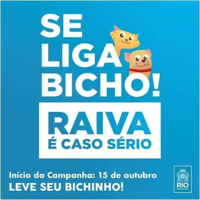 Vacina contra a raiva em Botafogo