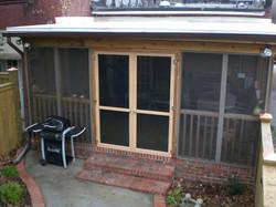 Rebuilding of Porch doors