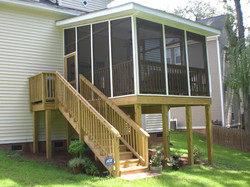 Outside of Screened in porch