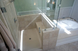 Stand up Shower with Seat