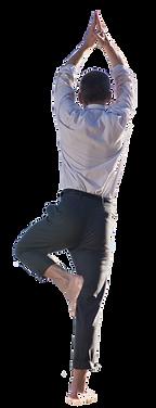 antistress, yoga homme