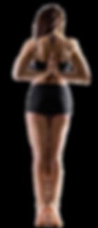Poture Yin Yoga femme