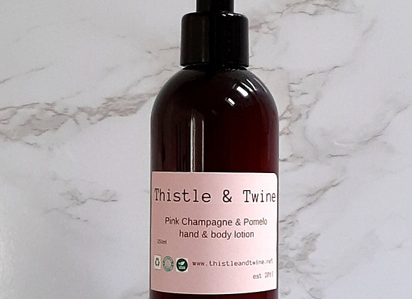 Pink Champagne & Pomelo Hand & Body Lotion 250ml ( wash sold separately )