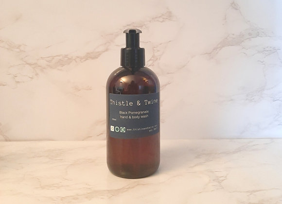 Black Pomegranate Hand & Body Wash 250ml  ( lotion sold separately)