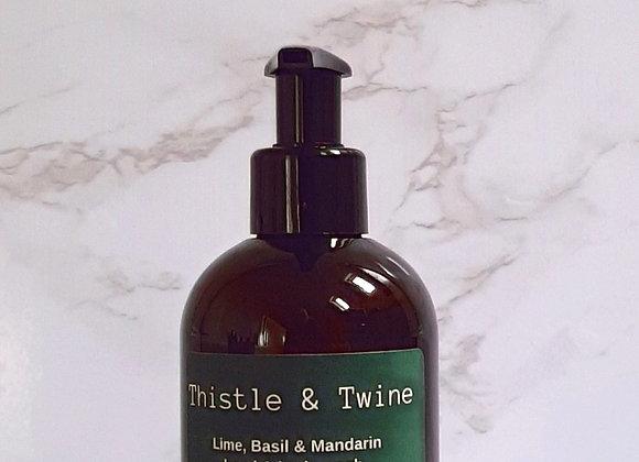 Lime, Basil & Mandarin Hand & Body Lotion 250ml ( wash sold separately)