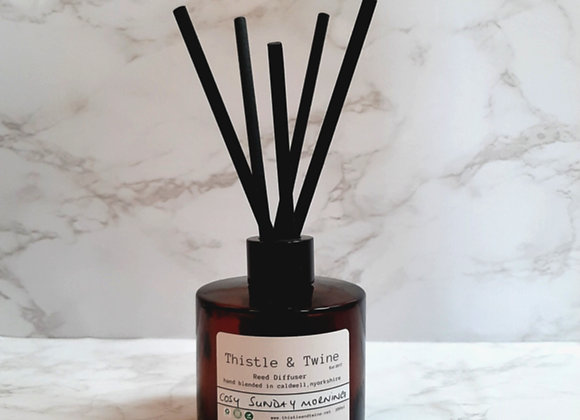 Cosy Sunday Morning Large 200ml Reed Diffuser