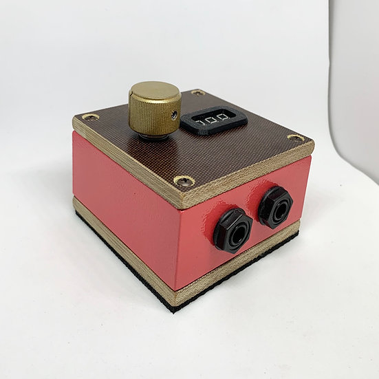 Pink and gold Apollo power supply