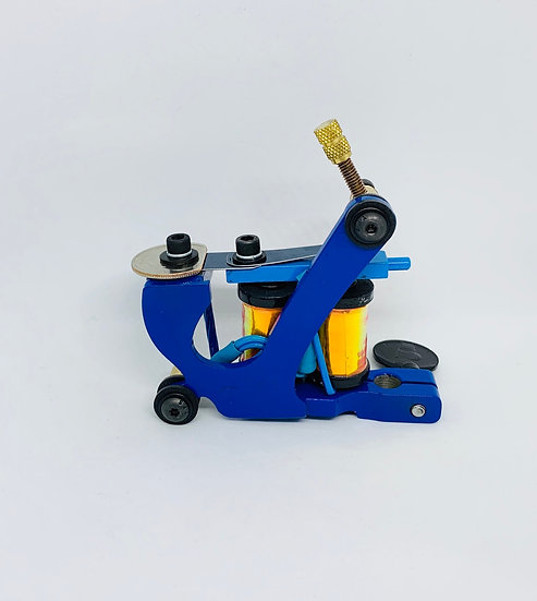 Blue and gold shimmer color packer