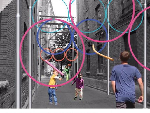 Rings of the Street installation selected at Winnipeg Design Festival