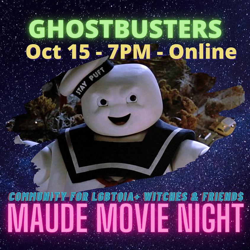 Maude Movie Night - Ghostbusters