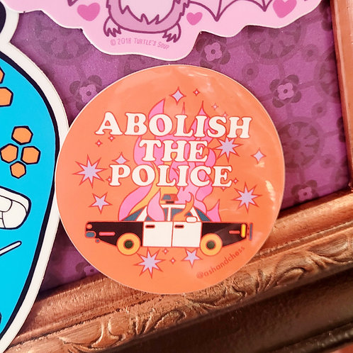 Abolish The Police Sticker