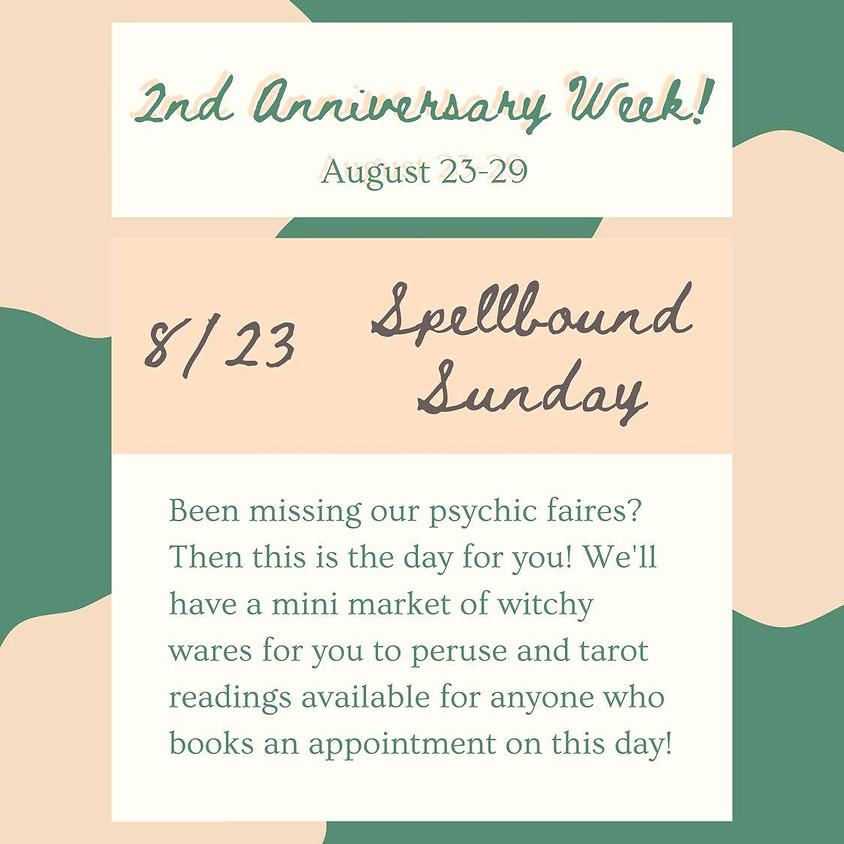 Spellbound Sunday - The Black Cat Market Celebrates 2 Years!