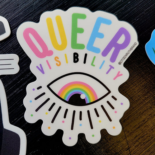 Queer Visibility Sticker