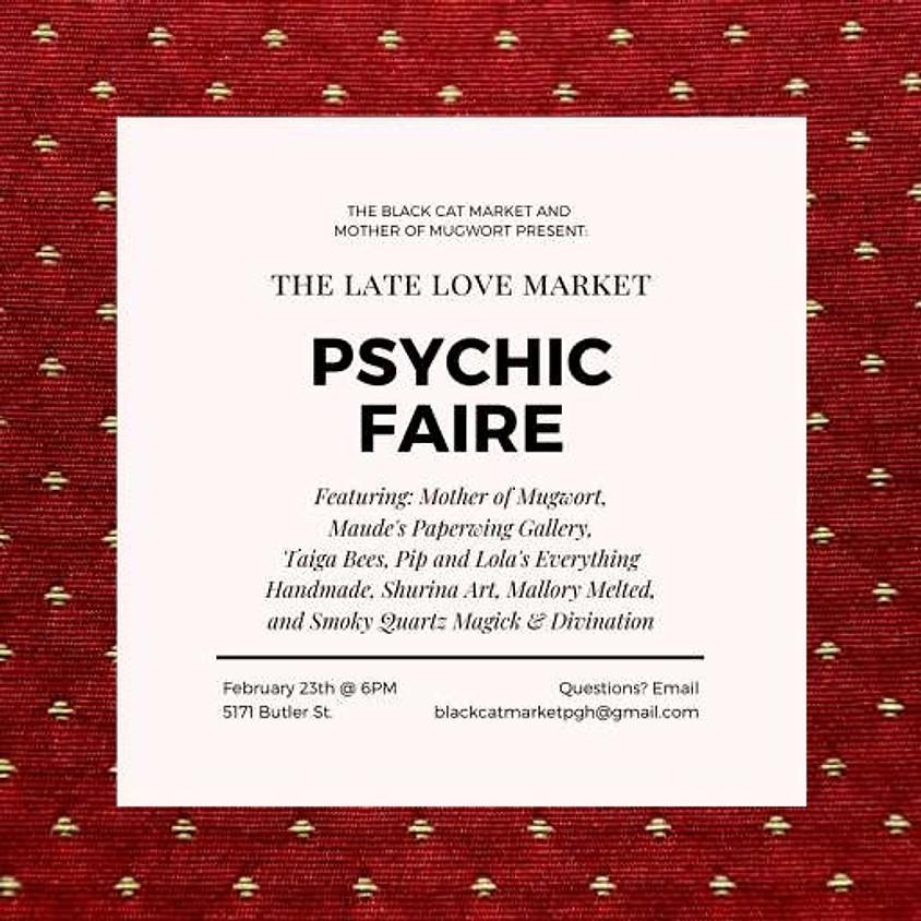 BCM Psychic Faire: Late Love Market