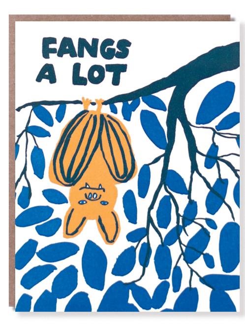 Fangs A Lot Card