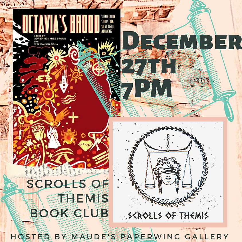 Scrolls of Themis Book Club - Octavia's Brood
