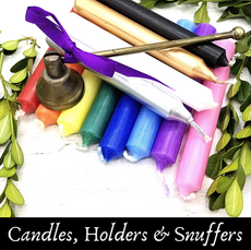Candles, Holders & Snuffers