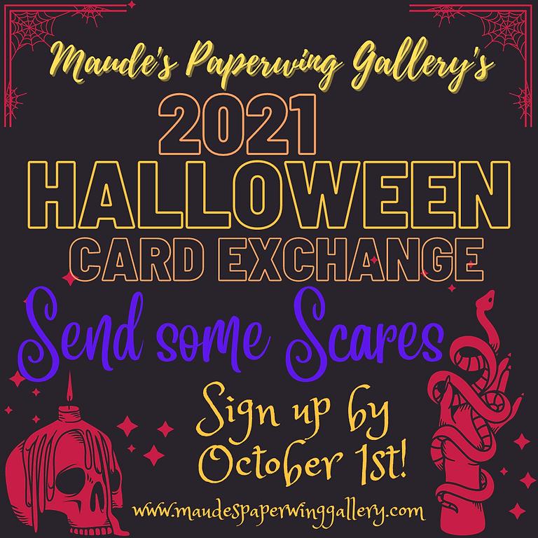 Halloween Card Exchange