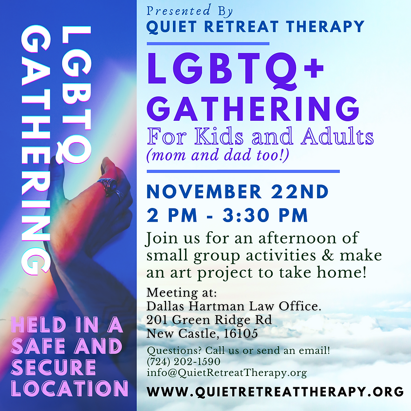 LGBTQ+ Gathering - New Castle, PA