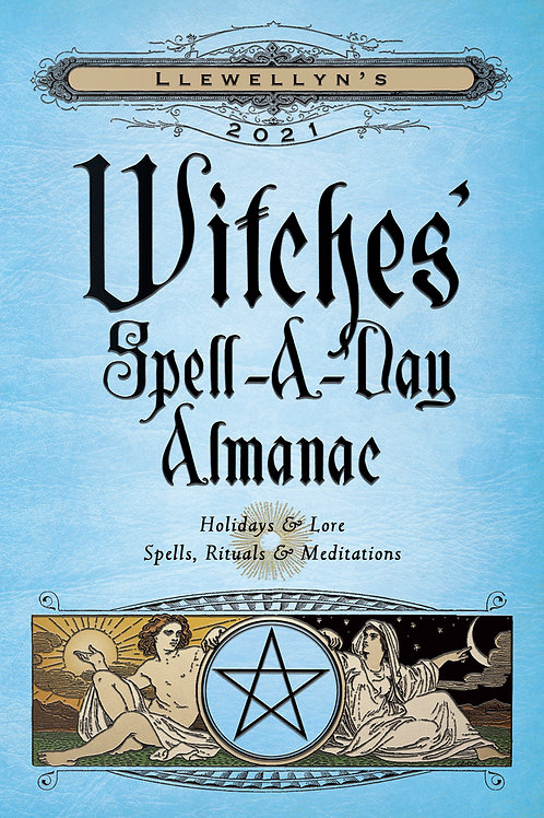 Witches' Spell-A-Day Almanac - 2021