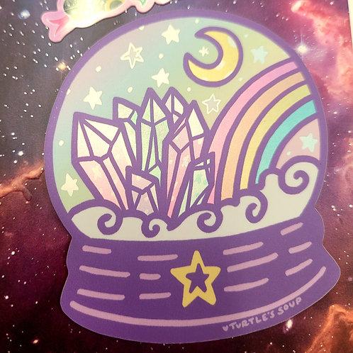 Crystal Ball Fortune Teller Sticker