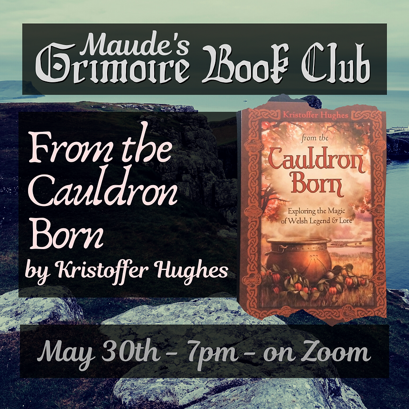 Grimoire Book Club - From the Cauldron Born