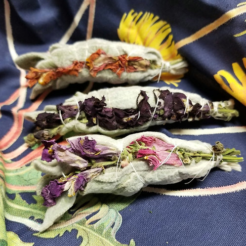 Lambs Ear and Snapdragon Herb Bundle