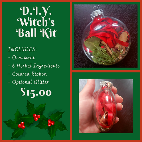 D.I.Y. Witch's Ball Kit