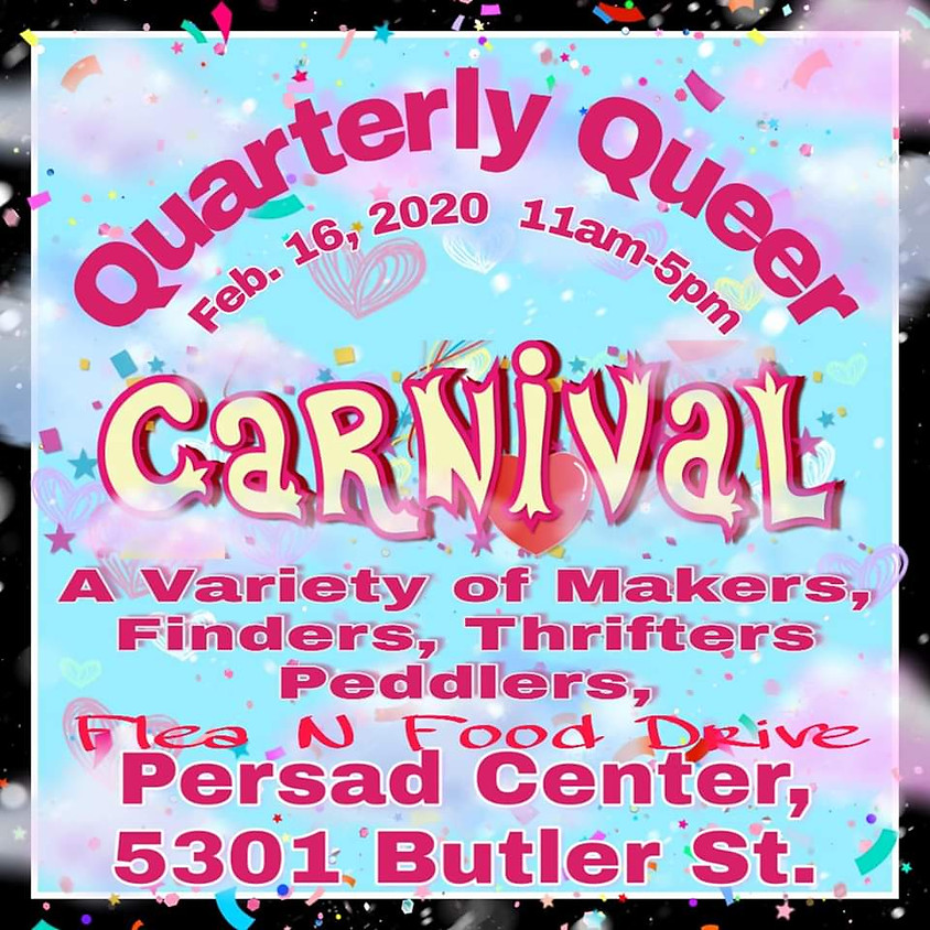 Quarterly Queer Carnival : Flea Market and Food Drive