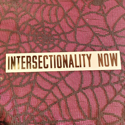 Intersectionality Now! Sticker