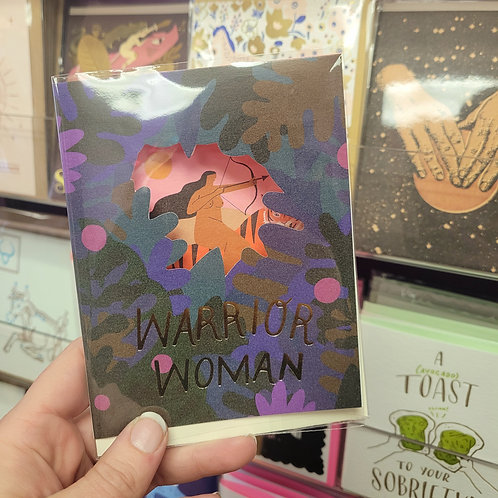 Warrior Woman Card
