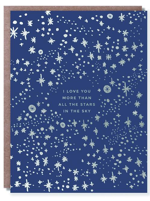 Stars In The Sky Card