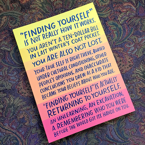 Finding Yourself Journal