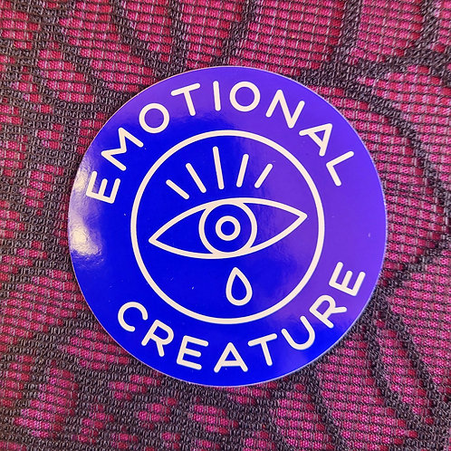 Emotional Creatures Sticker