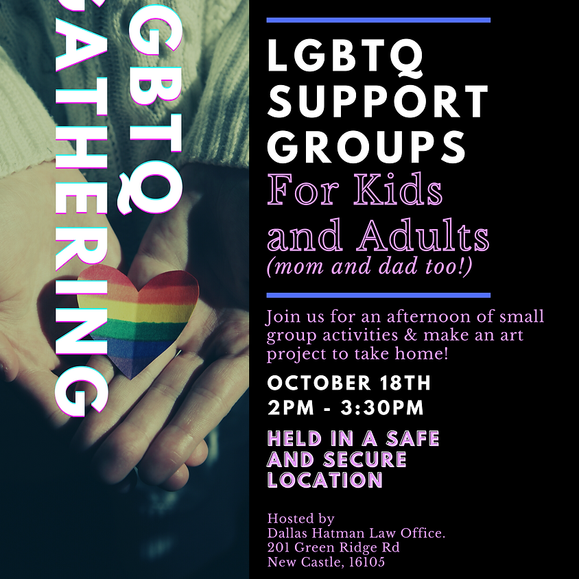 LGBTQ Support Group - New Castle