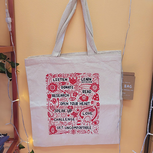 Call to Action Tote