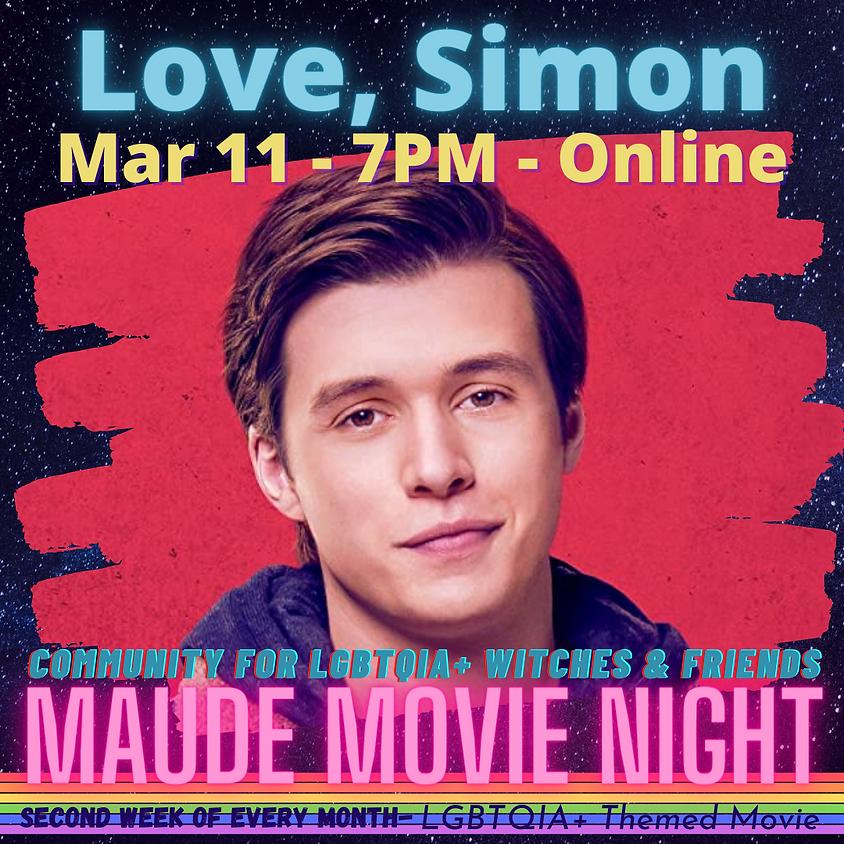 Maude Movie Night - Love, Simon