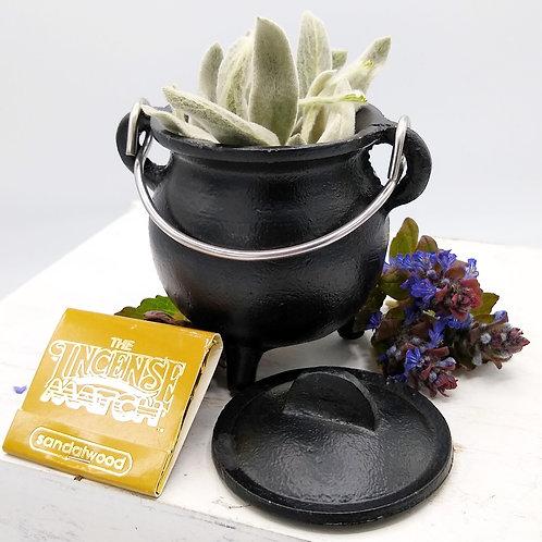 Pot Belly Cast Iron Cauldron
