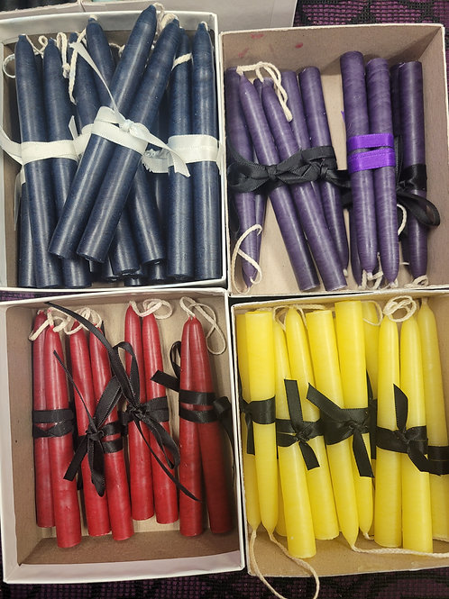 """Mole Hallow Candles - 4.5"""" Tiny Tapers"""