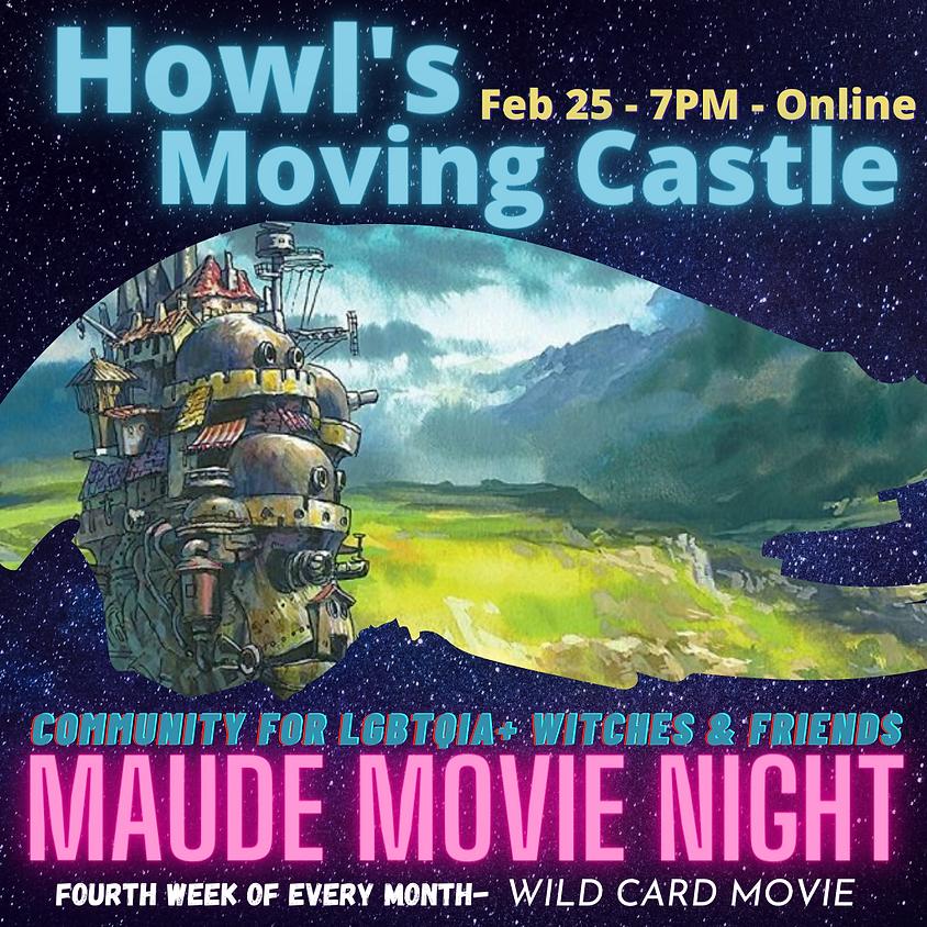 Maude Movie Night - Howl's Moving Castle