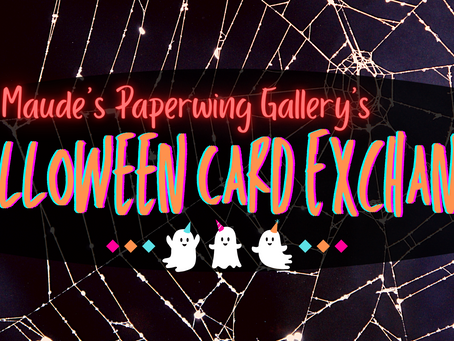 Our First Halloween Card Exchange!