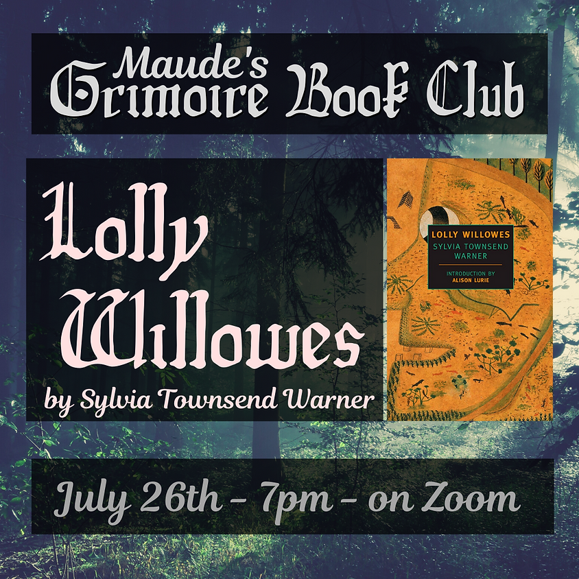 Grimoire Book Club - Lolly Willowes