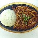 Spicy Squid with Rice