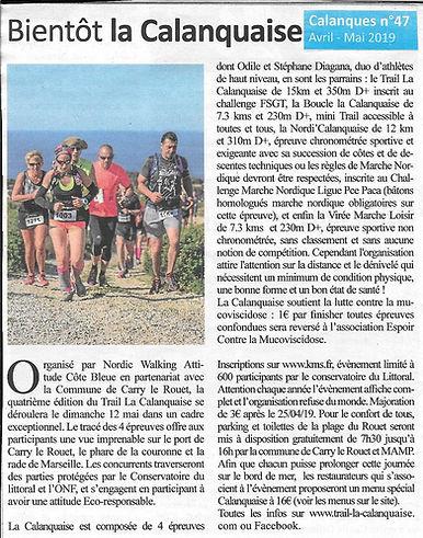 2019 JOURNAL CALANQUE La calanquaise0002